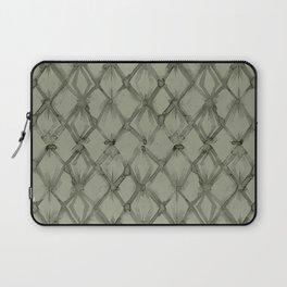 Braided Diamond Simply Green Tea Laptop Sleeve