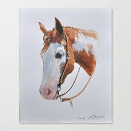 Western Horse Canvas Print