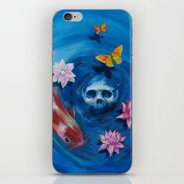 deep in the water iPhone Skin