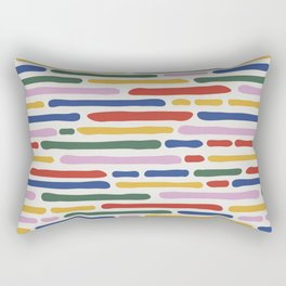 Seamless Summer Pattern Rectangular Pillow