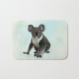 Koala Bear Digital Art Bath Mat