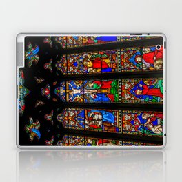 INRI Stained Glass Laptop & iPad Skin