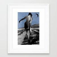 destiny Framed Art Prints featuring destiny by LouiJoverArt
