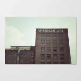American Life Canvas Print