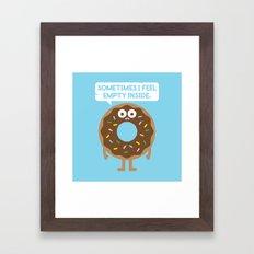 It's Not All Rainbow Sprinkles... Framed Art Print