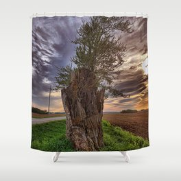 Stump Shower Curtain