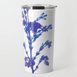 Heather flower #1 #decor #art #society6 Travel Mug
