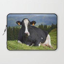 Cow portrait Laptop Sleeve