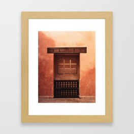 Door to Marakesh Framed Art Print