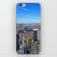 central park iPhone & iPod Skins featuring Central Park by Christine Workman