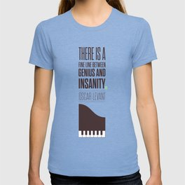 Lab No. 4 - Oscar Levant Planist Inspirational Quotes Poster T-shirt