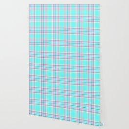 Large Royal Floridian Tartan Check Plaid Wallpaper