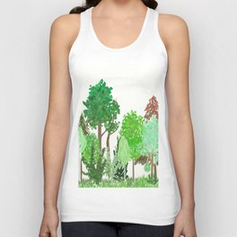 A Day in the Forest Unisex Tank Top