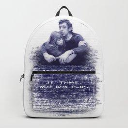Je t'aime - Jane Birkin & Serge Gainsbourg Backpack