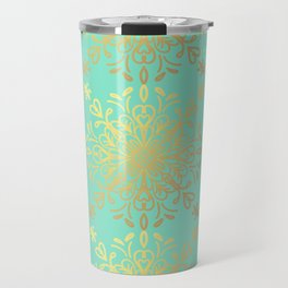Elegance Golden Caramel Travel Mug