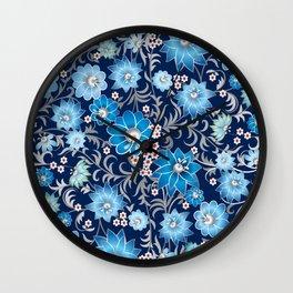 Shabby flowers #25 Wall Clock