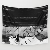 code Wall Tapestries featuring code by sladja