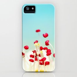 Blooming Candy Red iPhone Case