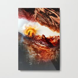Hell's Isolation Metal Print