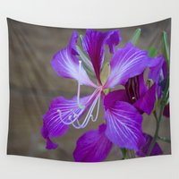 lily Wall Tapestries featuring Lily by Dennis Reagan