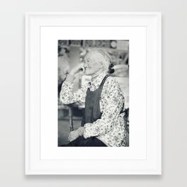 """Waiting"" Framed Art Print"