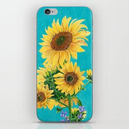 Sunflowers & Friends iPhone Skin