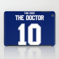 david tennant iPad Cases featuring Team Tennant by trekvix