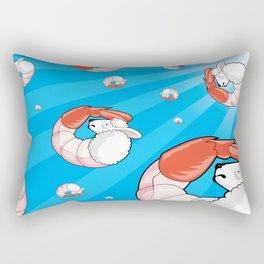Lamb-Shrimp Rectangular Pillow