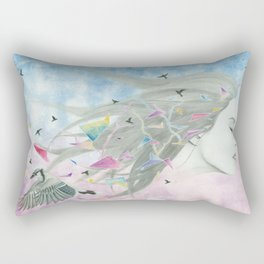 """""""The age of miracles"""" Rectangular Pillow"""