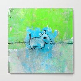 Dog No.1l by Kathy Morton Stanion Metal Print