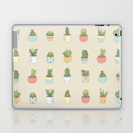 Cute Succulents Laptop & iPad Skin