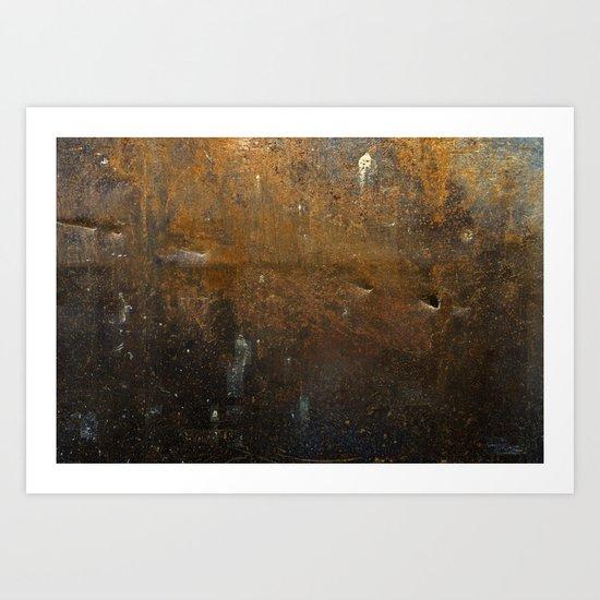 Steel Abstract #1 Art Print