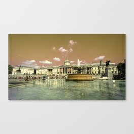 National Gallery Experimental Canvas Print