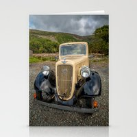 austin Stationery Cards featuring Austin 7 by Adrian Evans