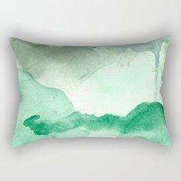 Meadow Pool Abstract Rectangular Pillow