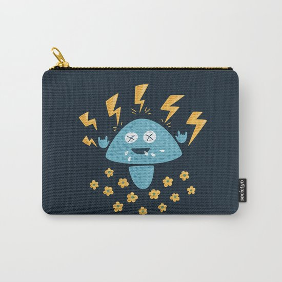 Heavy Metal Mushroom Carry-All Pouch
