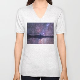 Space and time Unisex V-Neck