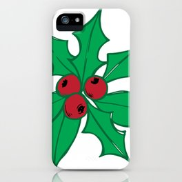 Christmas Holy iPhone Case