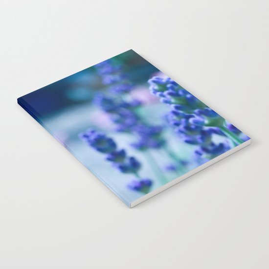 A Touch of blue - Lavender #1 Notebook