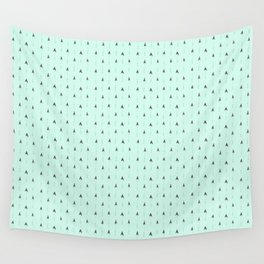mint magic arrows Wall Tapestry