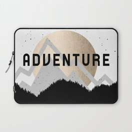 Adventure Golden Sunrise Laptop Sleeve