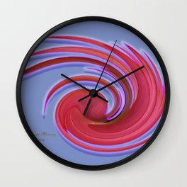 The whirl of life, W1.2C Wall Clock