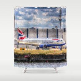 British Airways  Shower Curtain