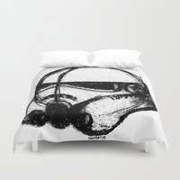 stormtrooper Duvet Covers featuring stormtrooper by chicco montanari