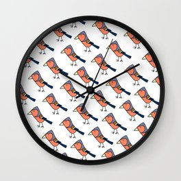 Chaffinches Wall Clock