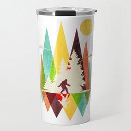 Bigfoot Mountian Travel Mug