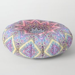 Mandala Faaa Raaa Oooon  Floor Pillow