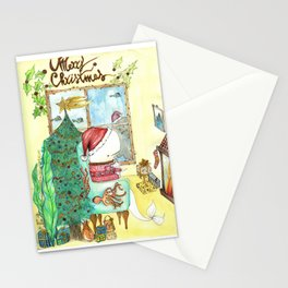 Moby's Christmas Stationery Cards