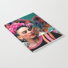 Flowery Frida Notebook