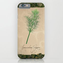 Herbal Apothecary: Fennel iPhone Case
